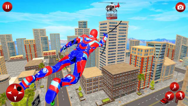 Light Police Speed Hero Robot Rescue Mission screenshot 14