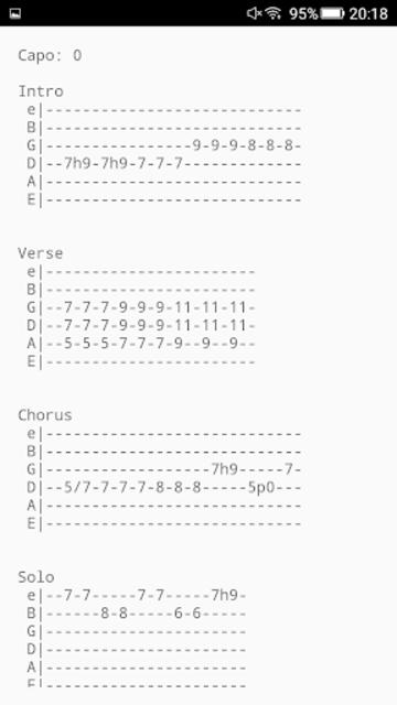 Tab Central - Guitar Tab Maker screenshot 4