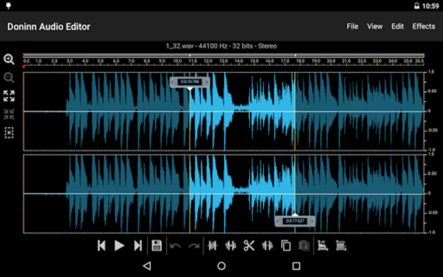 Doninn Audio Editor screenshot 16