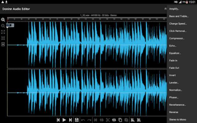 Doninn Audio Editor screenshot 14