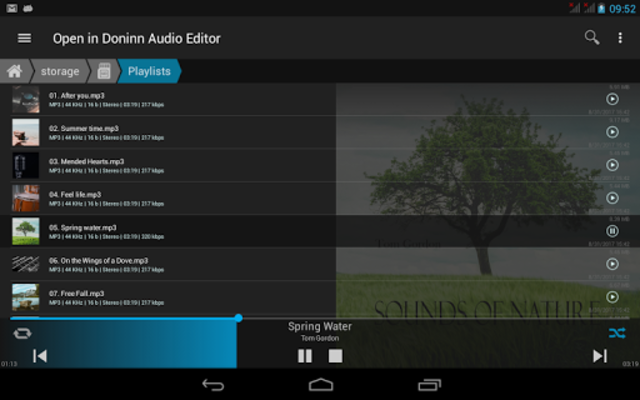 Doninn Audio Editor screenshot 19