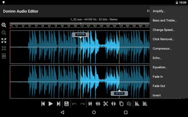 Doninn Audio Editor screenshot 22