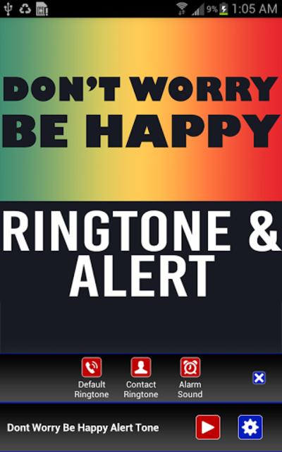 Don't Worry Be Happy Ringtone screenshot 2