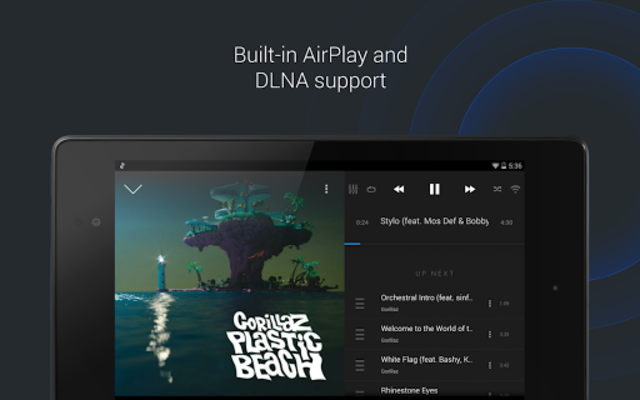 doubleTwist Music & Podcast Player with Sync screenshot 9