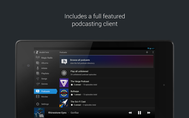 doubleTwist Music & Podcast Player with Sync screenshot 12