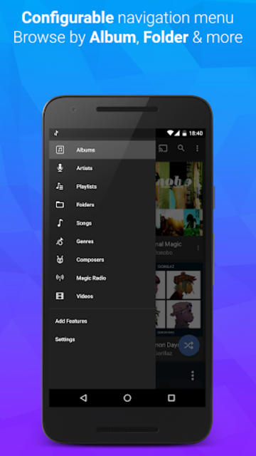 doubleTwist Music & Podcast Player with Sync screenshot 3