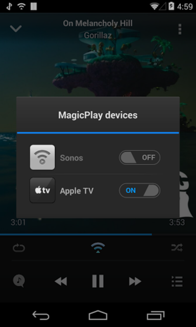 AirSync: iTunes Sync & AirPlay for Android screenshot 2