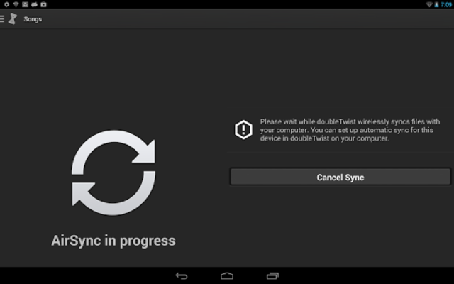AirSync: iTunes Sync & AirPlay for Android screenshot 3