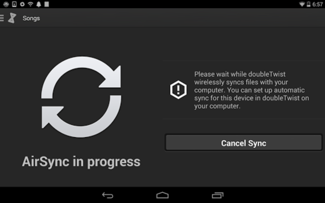 AirSync: iTunes Sync & AirPlay for Android screenshot 5