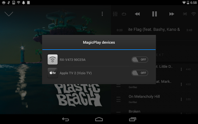 AirSync: iTunes Sync & AirPlay for Android screenshot 6