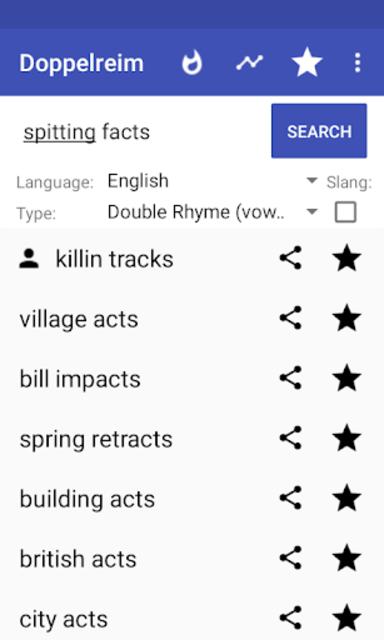 Rhymes for Rap (Multisyllabic), poetry slam/lyrics screenshot 5