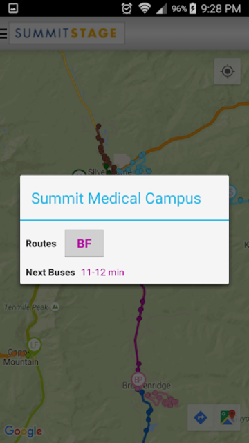 Summit Stage SmartBus screenshot 3
