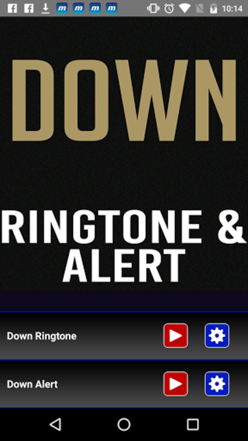 Down Ringtone and Alert screenshot 2