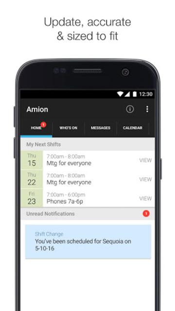Amion - Physician Calendar screenshot 1