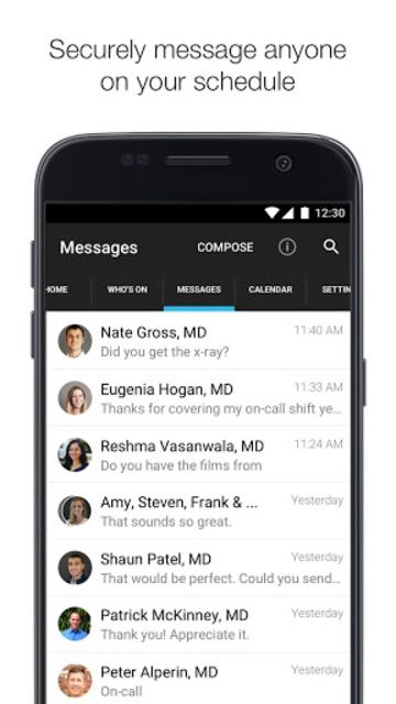 Amion - Physician Calendar screenshot 3