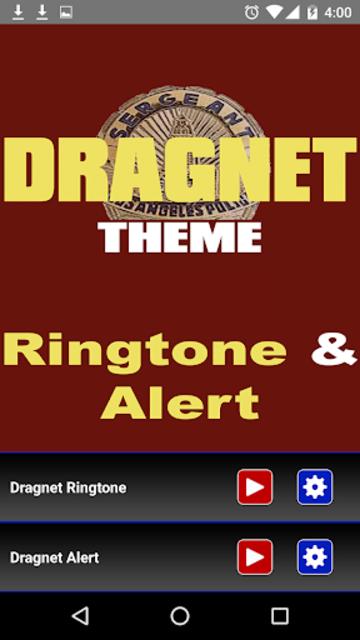 Dragnet Ringtone and Alert screenshot 2