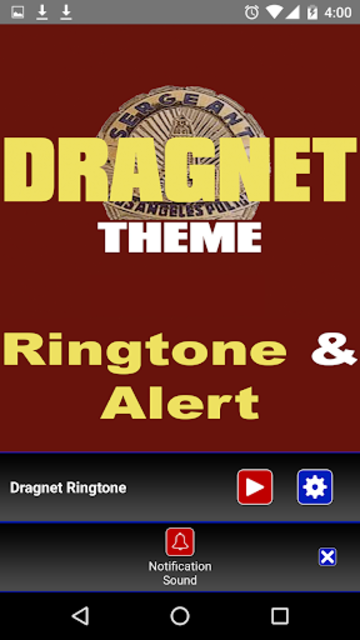 Dragnet Ringtone and Alert screenshot 4