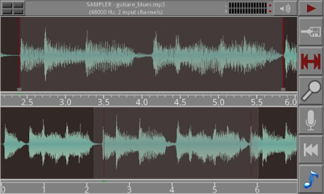 Androsynth Audio Composer screenshot 2