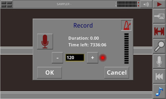 Androsynth Audio Composer screenshot 4