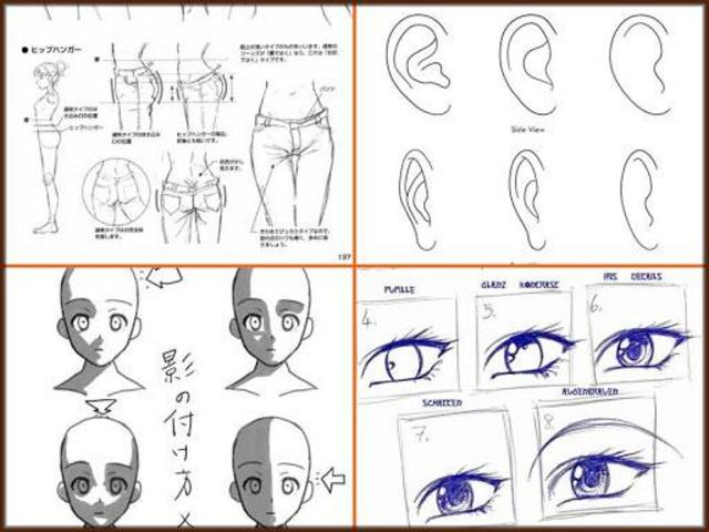 Drawing Anime Step by Steps 2018 screenshot 1