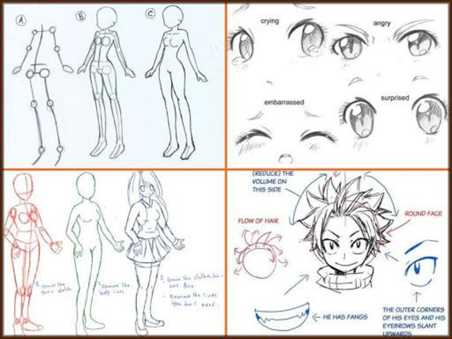 Drawing Anime Step by Steps 2018 screenshot 2
