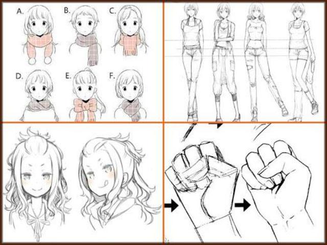 Drawing Anime Step by Steps 2018 screenshot 5