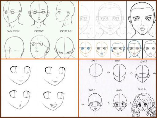 Drawing Anime Step by Steps 2018 screenshot 7