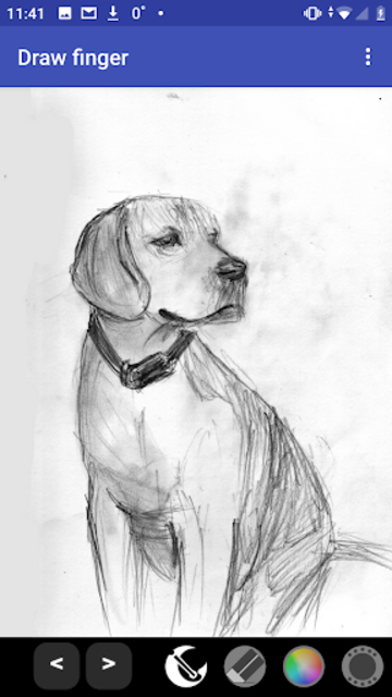 Draw finger (painter) PRO screenshot 1