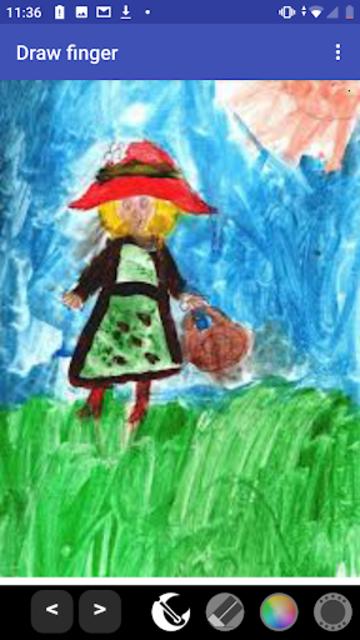 Draw finger (painter) PRO screenshot 3