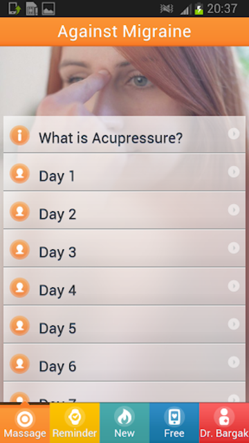 Acupresssure Against Migraine screenshot 6