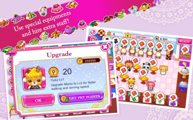 Cinderella Cafe screenshot 4
