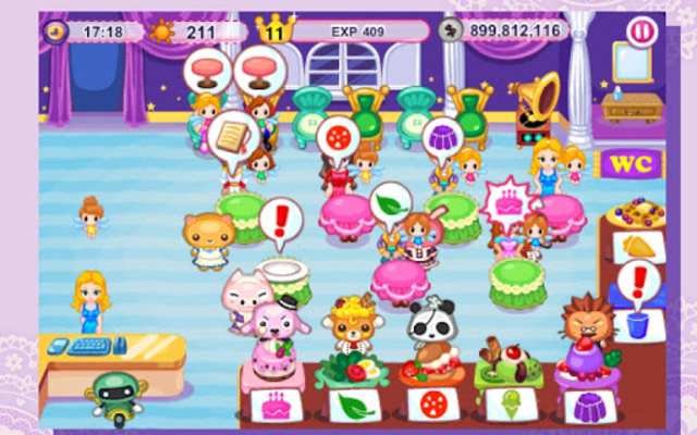 Cinderella Cafe screenshot 8