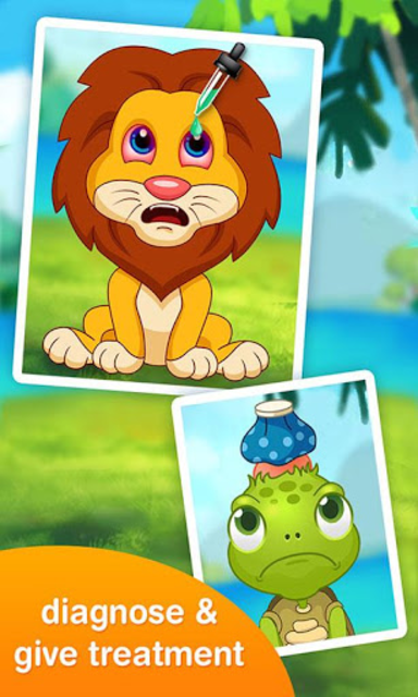 Jungle Doctor FREE Kids Games screenshot 2