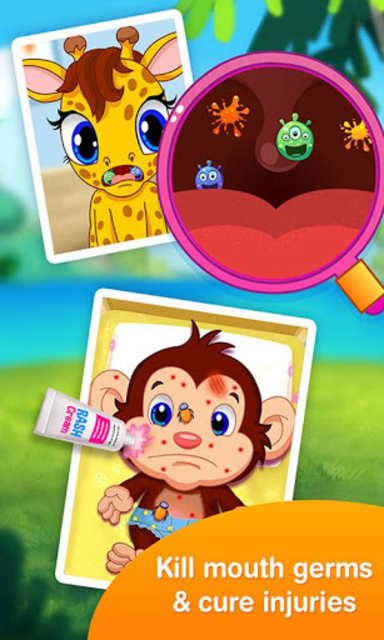 Jungle Doctor FREE Kids Games screenshot 5