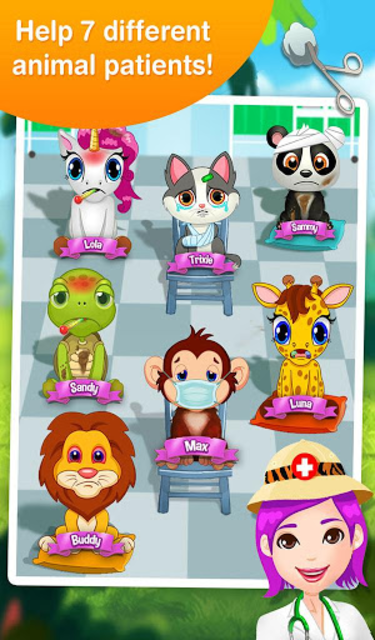 Jungle Doctor FREE Kids Games screenshot 11