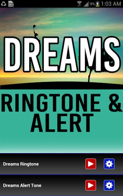 Dreams Ringtone and Alert screenshot 1