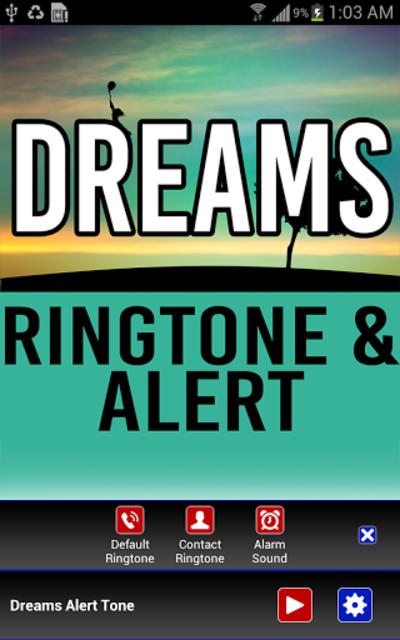 Dreams Ringtone and Alert screenshot 2