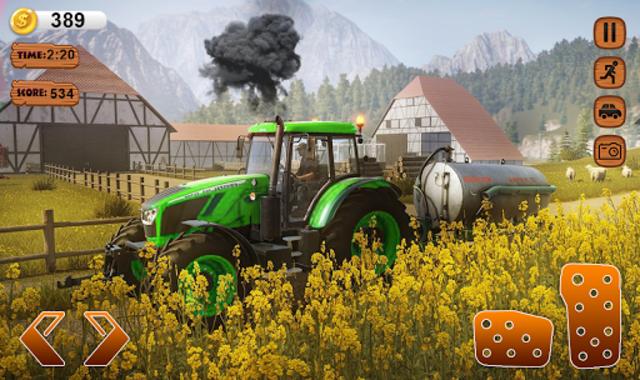 Farmer Simulator 2020 Real Tractor Farming Sim screenshot 3