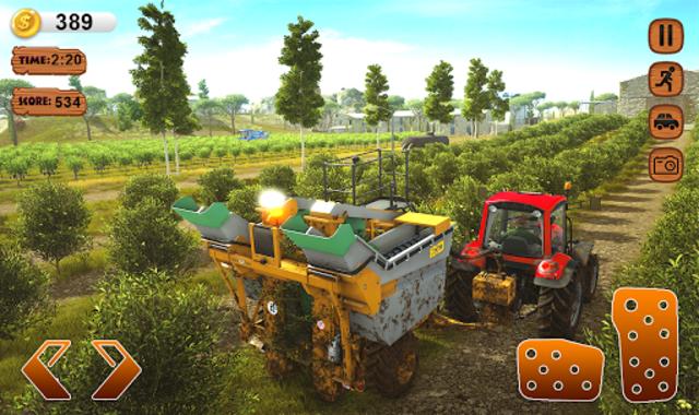 Farmer Simulator 2020 Real Tractor Farming Sim screenshot 4