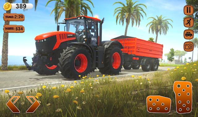 Farmer Simulator 2020 Real Tractor Farming Sim screenshot 5