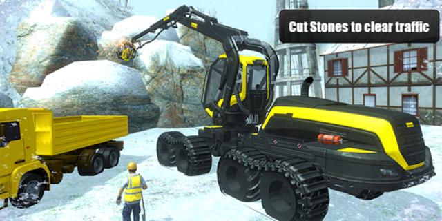 Snow Cutter Excavator Simulator 2020 screenshot 2