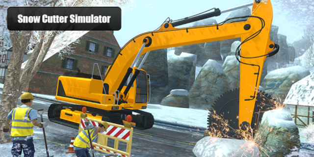 Snow Cutter Excavator Simulator 2020 screenshot 3