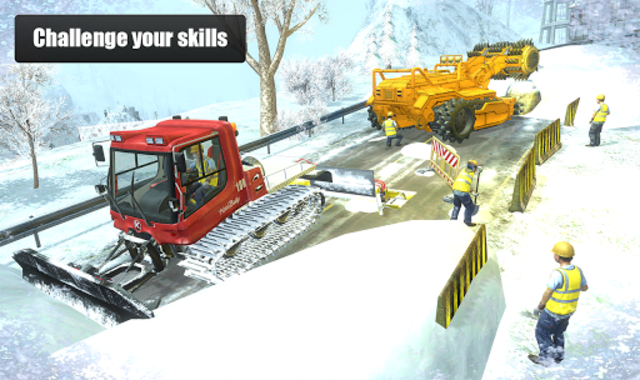 Snow Cutter Excavator Simulator 2020 screenshot 5