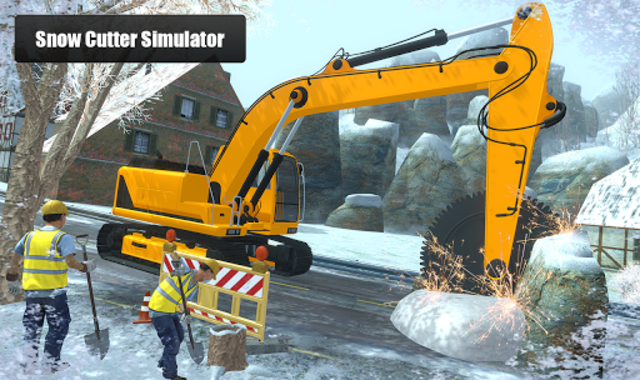 Snow Cutter Excavator Simulator 2020 screenshot 7
