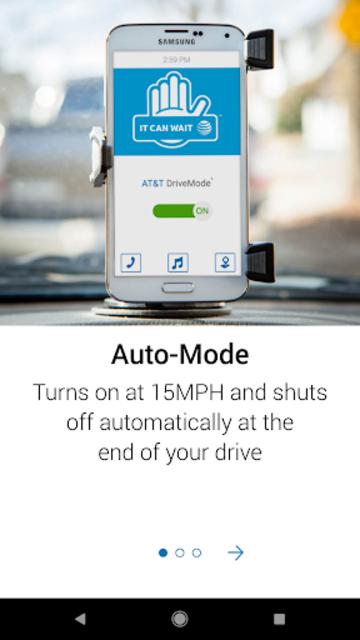 AT&T DriveMode screenshot 1