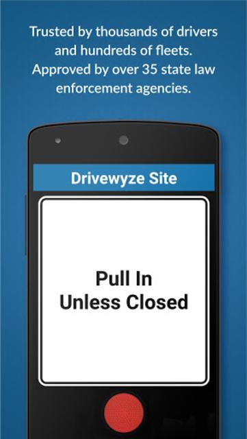 Drivewyze PreClear Trucker App screenshot 5