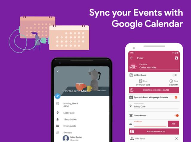 Calendar 2021 - Diary, Holidays and Reminders screenshot 9