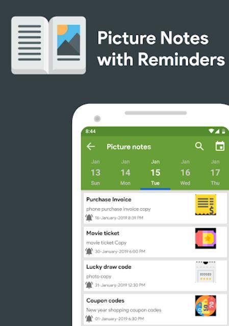 Calendar 2021 - Diary, Holidays and Reminders screenshot 16