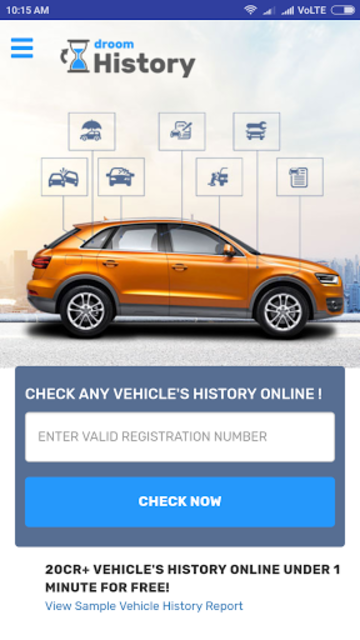 free vehicle history report online