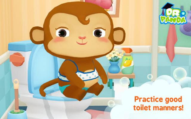 Dr. Panda Bath Time screenshot 3